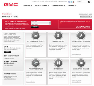 Manage My GMC - Owner Center
