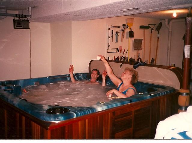 missouri mom topless in hot tub