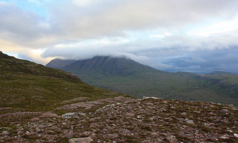 Cloud covering An Teallach