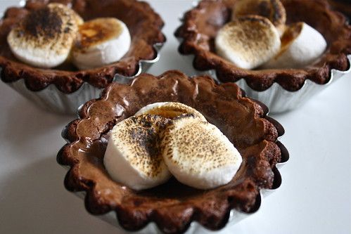 Campfire S'mores Brownies