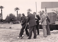 Paradise Valley Ground Breaking, 1985