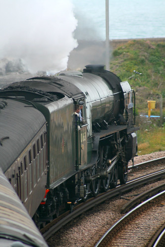 "60163 ""Tornado"", The Cathedral Express 26th June 2012 at Dover"