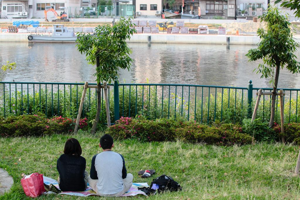 Kitahama 1 Chome, Osaka-shi, Chuo-ku, Osaka Prefecture, Japan, 0.005 sec (1/200), f/7.1, 70 mm, EF70-300mm f/4-5.6L IS USM