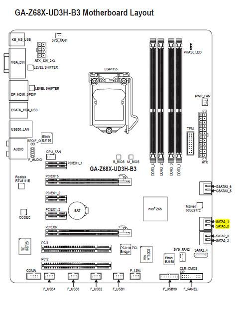 sata port diagram   17 wiring diagram images