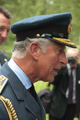 Prince Charles, Bomber Command memorial opening - 28th June 2012