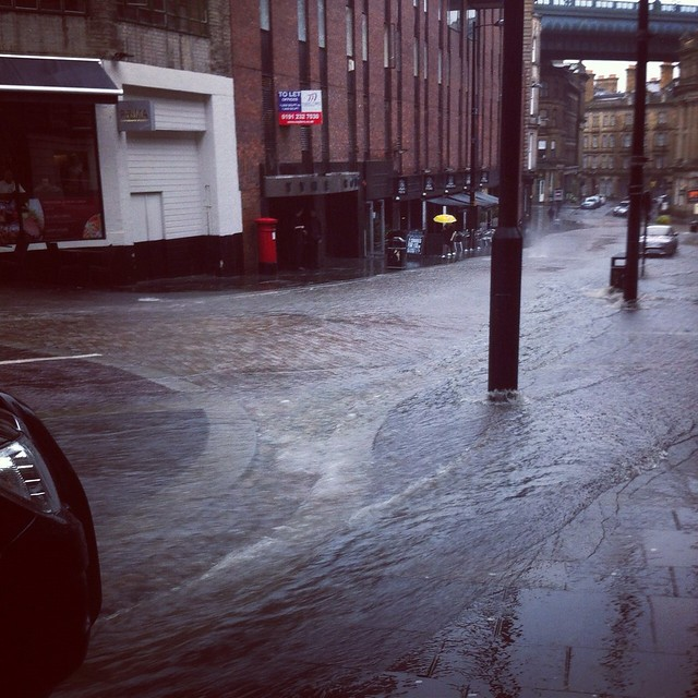 newcastle flooding