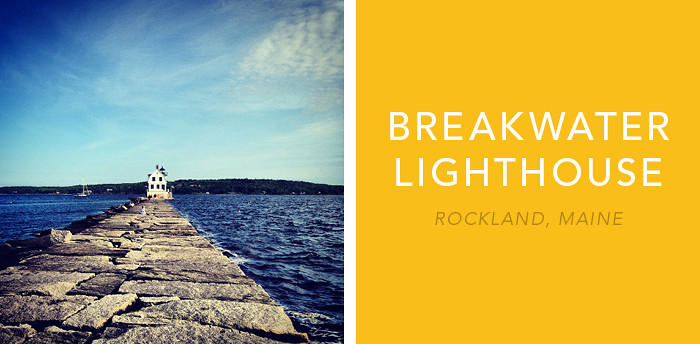 Rockland Breakwater Lighthouse 1