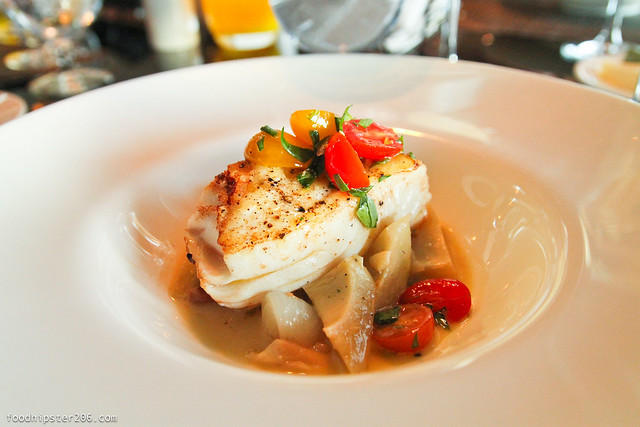 six seven the edgewater halibut
