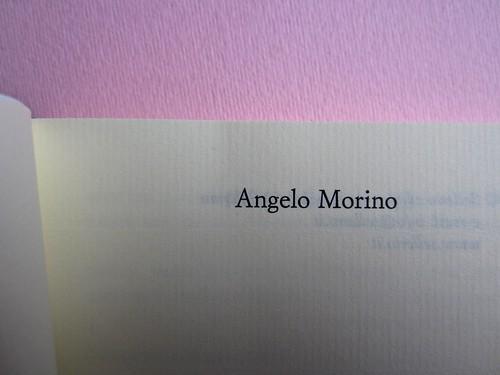 Angelo Morino, Il film della sua vita, Sellerio 2012. [resp. grafica non indicata]. Frontespizio (part.), 1