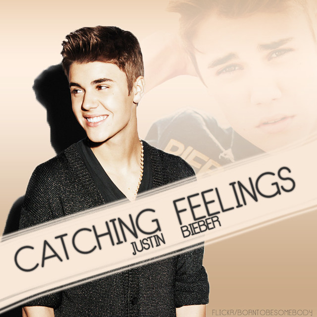 justin bieber catching feelings cd cover flickr photo sharing
