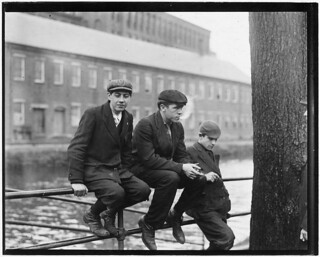 Bleach Room boys. Daniel Crowley, 17 years old. Mike Kennedy, 18 years old. Pacific Mills. Lawrence, Mass, November 1910
