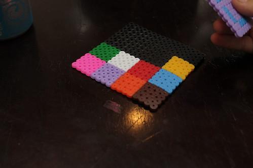 Perler Beads Coaster
