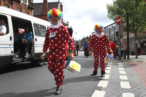 Tweedle Bros - Hornsey Carnival -  London Street Portrait