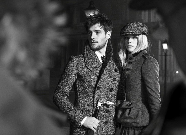 9b Behind the scenes at the Burberry AutumnWinter 2012 ad campaign7
