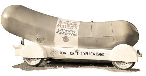 The First Wienermobile