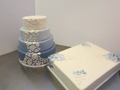 mozaiek wedding cake by CAKE Amsterdam - Cakes by ZOBOT