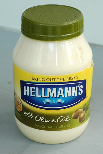 Olive oil mayo by Hellmann's by Eve Fox, Garden of Eating blog, copyright 2012