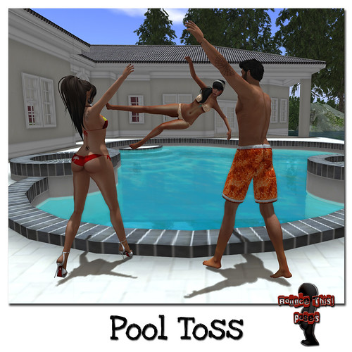 Bounce This Poses - Pool Toss