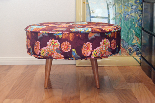 Finishing on Ottoman Chair Legs