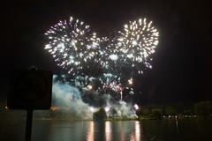 Feu d'artifice du 14 Juillet à Metz