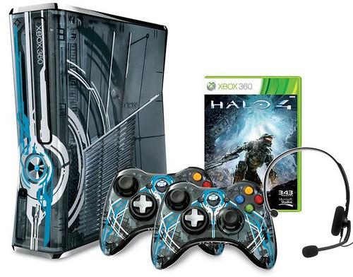 Xbox 360 Halo 4 console