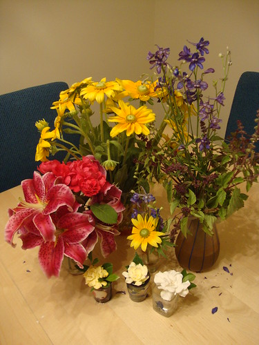 assortment of flowers