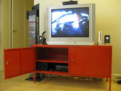 Sold Ikea Ps Red Tv Stand 3 3 50 Http Www Ikea Com Flickr