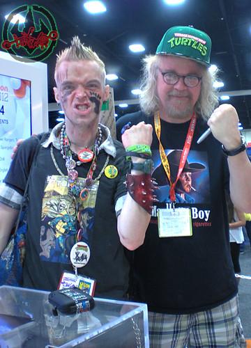 tOkK trip-trip:San Diego Cosmic Conniption 2012 :: Tokka & Ron English