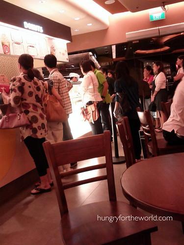 line at jco donuts