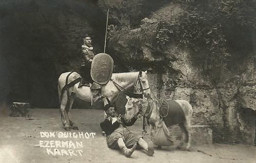 Johan Kaart and Lau Ezerman in Don Quichot