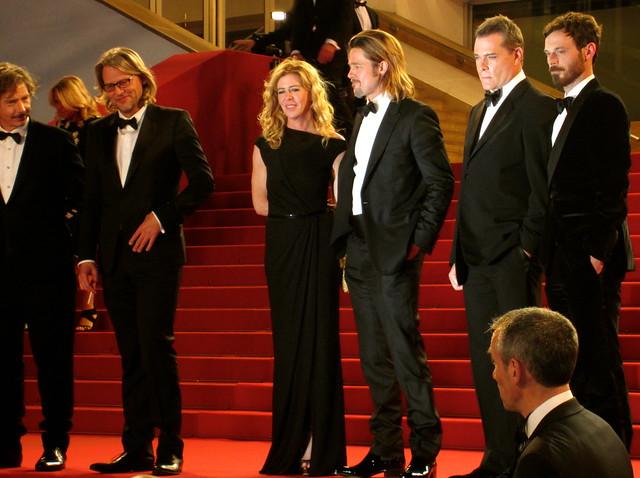 Brad Pitt, Ray Liotta, Killing Them Softly Premiere, Cannes Film Festival 2012