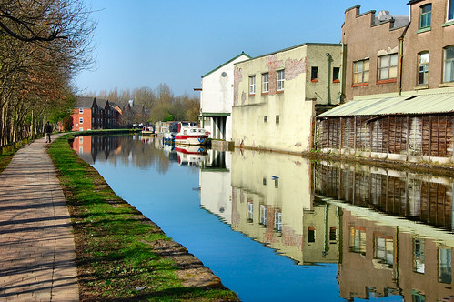 REFLECTIONS ON THE CANAL..