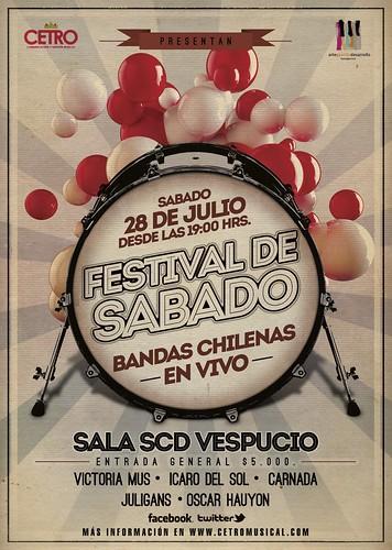 FESTIVAL DE SABADO by Oscar Hauyon