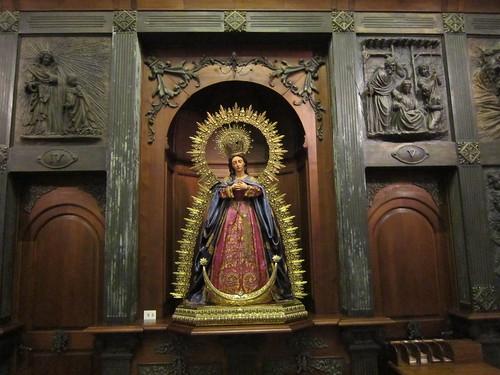 サンタ・マリア・ラ・マヨール教会の聖マリア像・・ロンダ旧市街 by Poran111