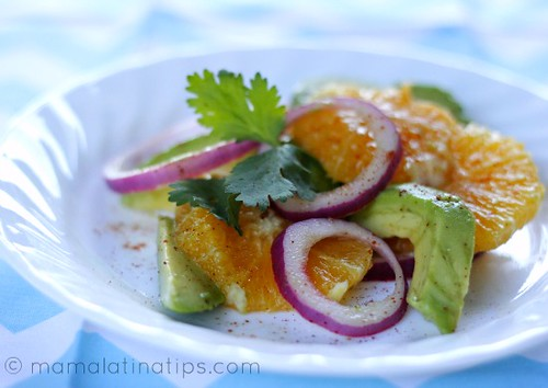 Orange Avocado Salad 2