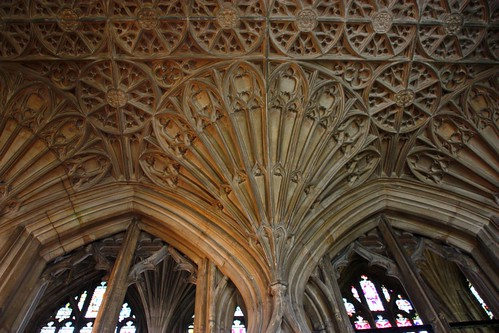 Ceiling Detail at Gloucester Cathedral