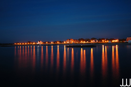 Schönberger Strand by night