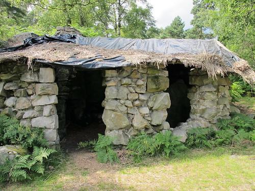 Cabane de Jean-Jacques Rousseau - Le Désert, Ermenonville (60)