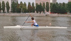 boats and boating--equipment and supplies, vehicle, rowing, canoe sprint, boating, water sport, watercraft, oar, boat, paddle,