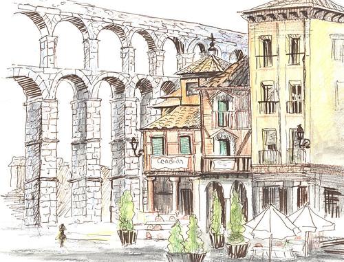 El Acueducto y Casa Candido