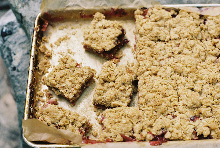 plum crumb bars