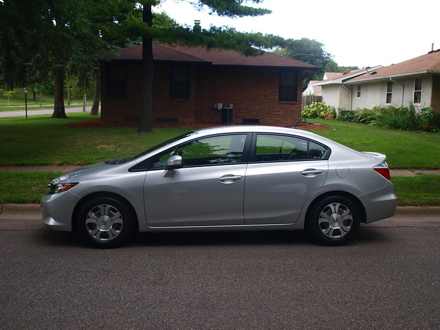 2012 Honda Civic Hybrid 1