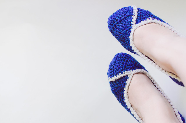 Free Crochet Pattern For Womens Slippers Brooklyn Berry Designs