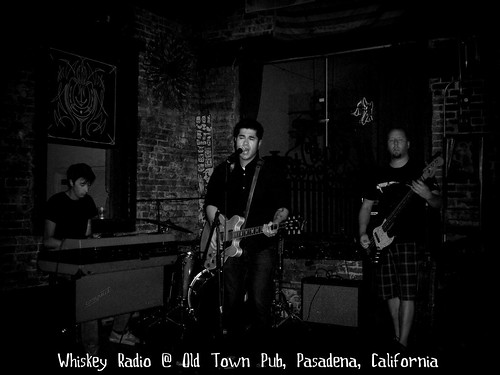 Summer of 2012 Whiskey Radio SoCal Tour