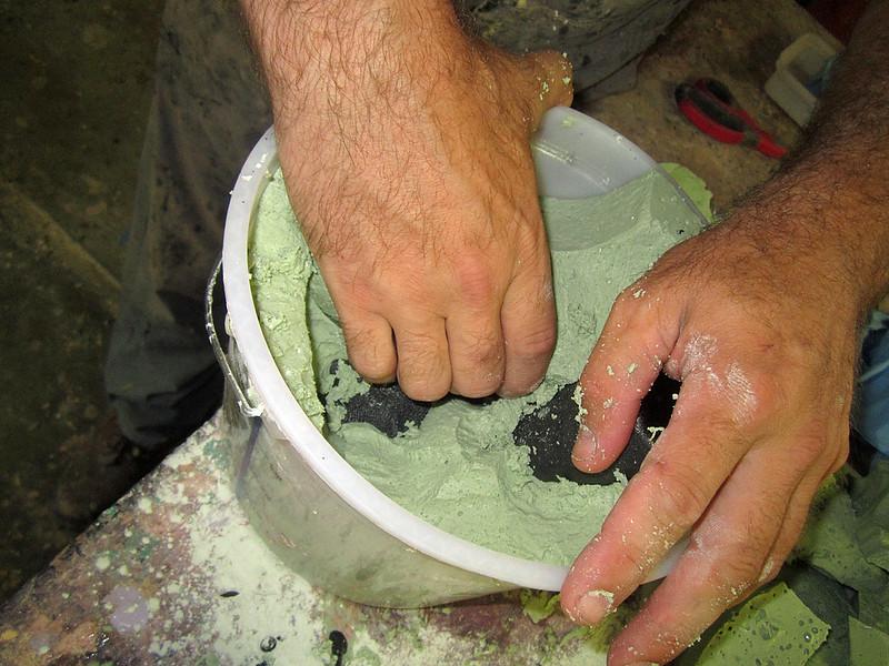 Pulling Hand Cast