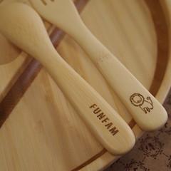 バーニーズニューヨーク 木製キッズプレート