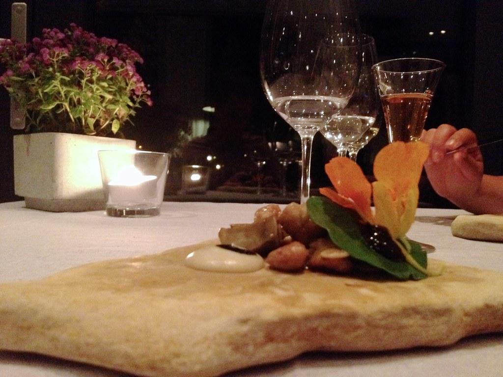 Warschau (PL) - Atelier Amaro - Kalfszwezeriken - Best dish of the trip