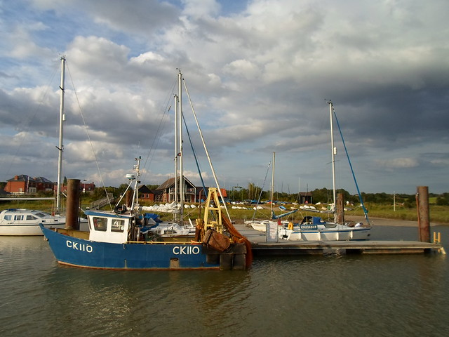 Fishing boat, Wivenhoe