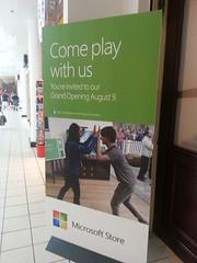 Microsoft Store Banner Pentagon City