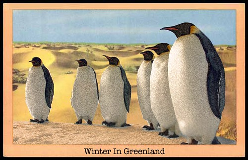 POSTCARDS FROM GW (GREENLAND) by Colonel Flick